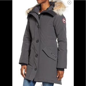 🎉Canada Goose Rossclair Genuine Coyote Fur Jacket